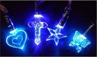 Wholesale Fashion Necklace Luminous necklace LED Flash Necklace Pendant a magnetic toy