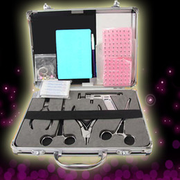 Wholesale Tattoo Body Navel Ear Tongue Lip Jewelry Piercing Kit Kits Supply USA Warehouse GBL CK K001