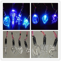 Wholesale New LED glow necklace personalized fashion necklace
