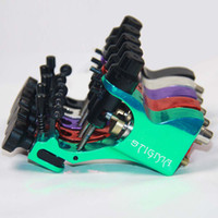 Wholesale NEW arrival color mix Professional Stigma Bizarre V2 Rotary Tattoo Machine with RCA