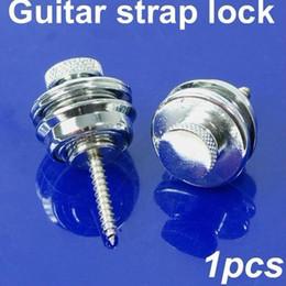 Cerradura antideslizante de la cabeza plana del cromo para el bajo eléctrico de la guitarra acústica desde bajo plano fabricantes