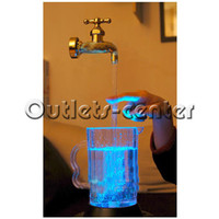 Wholesale Multi Color Water Faucet Lamp LED Floating Faucet V LG150016