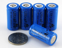 Wholesale Brand ultrafire V Rechargeable Battery mAh for LED Flashlight D