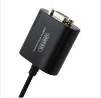 Wholesale Mini HDMI TO VGA Converter Single Port HDMI Cable for PC UNITEK Y DHL free