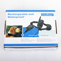 Wholesale Rechargeable Dog Training Collar With LCD Display Level Vibration Shock for dog