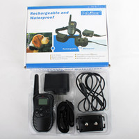 Wholesale Remote training collar with Rechargeable and Waterproof for dog With LCD Display