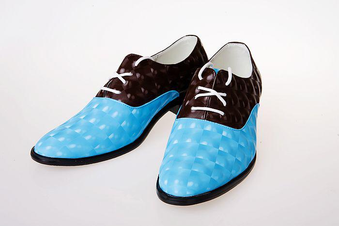 Assorted Colors Leather Lace Shoes Men's Wedding Shoes Porm Shoes ...