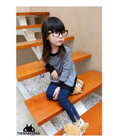 Girl designer tights - 2012 New fashion children clothing Girls Jeans designer jeans kids jeans Gilrs Tights Pants color