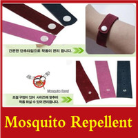 Wholesale Mosquito Repellent Band Bracelets Anti Mosquito Pure Natural Baby Wristband Hand Ring