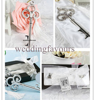 Wholesale 50pcs Key to My Heart Collection Key Design Bottle Opener Wedding Favors party gifts favors