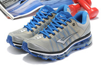 Wholesale Men AIR mattress running shoes Men s trainer sports sneakers can ask for other brand blue