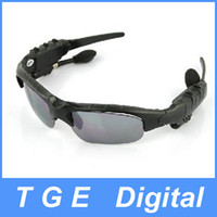 Wholesale Bluetooth FM radio Headset Sunglasses Mp3 Player GB