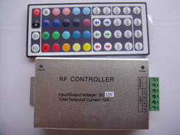44key 12V Common Anode colorful RGB Remote Controller ,aluminum rgb led strip controller post free s