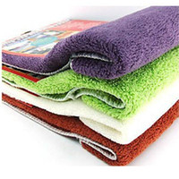 Wholesale 30PCS Microfiber towel universal washing towels Cleaning towel Pack Colors
