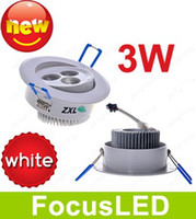 Wholesale High Power White Shape CREE Led Ceiling Downlights W Pure White Angle Led Down Light V