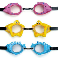 Wholesale intex kids swimming goggles children swimming glasses color choice