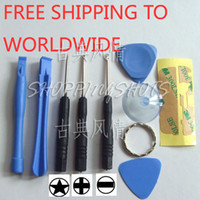 Wholesale Screwdriver Opening Pry Tool Repair Kit Set For iPod Touch iPhone S G G GS