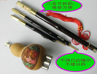 Wholesale The Zizhu tone detachable Hulusi vice pipe plum buckle then copper nickel alloy from gfgp china