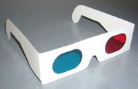Wholesale Low Cost Paper D Glasses Red Cyan D stereo glasses