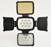 Wholesale LED Professional LED Video Light Camera lamp for Video Camera camcorder strong LED light