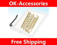 Wholesale Touch Screen Digitizer Panel For ipad For New ipad With Sticker PC