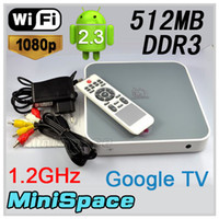 Wholesale NEW TV Box with RK2918 Cortex A8 Ghz DDR3 GB Nand Flash P HDMI WIFI Games Free Shipp