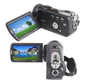 Wholesale Zoomable Full HD M DVC P390 Digital Camcorders Camera quot TFT LCD Touch Screen G SD Card