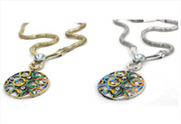 Wholesale 2012 London Olympic memento England Olympic vingate necklace silver amp gold color