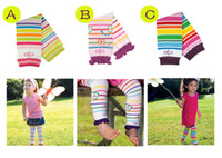 Wholesale BL baby lace rainbow floral stripe socks three designs