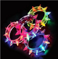 Wholesale Olympic Jewelry Led bracelet bangle by dhl free