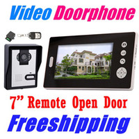 Wholesale 2 GHz Inch Wireless Video Door Phone Audio Visual Intercom Monitor with CMOS Camera