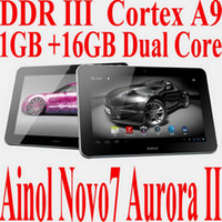 Wholesale High Quality Ainol Novo Aurara II Android OS Ghz Dual Core Inch IPS Screen HDMI Camera Ta