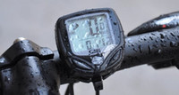 Wholesale SD C Function Black LCD Waterproof Wireless Multifunctional Bicycle Computer Odometer