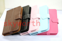 Wholesale 7 Inch Leather Case for Android Tablet PC VIA8650 Epad Cube U17Gt Ainol Novo7 Elf ICOO D70W