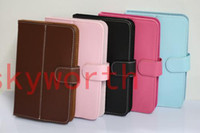 Wholesale 7 Inch Leather Case for Android Tablet PC VIA8650 Epad Ainol Novo7 Elf ICOO D70W Netbook MID