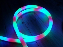 2m Flexible LED color colorful neon tube rgb flexible neon tube strip