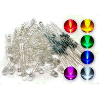 Wholesale microtivity mm Assorted Clear LED w Resistors Colors Pack of from carinashop