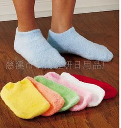 Wholesale One pair Moisturizing Socks Soften Repair Whiten Skin Spa your feet