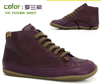 Wholesale Camper new Higher Shoe lovers boots real leather flat keel Multicolor high shoes