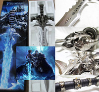 Wholesale Frostmourne Steel Sword Wall Plaque WOW Cosplay WORLD OF WAR CRAFT