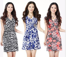 Wholesale Hot New Women s Clothing Fashion Dresses cultivating temperament dress large size best price