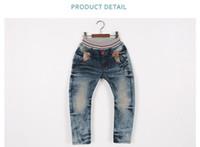 Wholesale NEW Jeans trouser boys pants kids girls pant trousers LTT748E