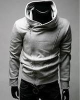 Men jacket - 2012 Brand New HOT Han Edition Men s Jacket Men s Inclined Zipper Cardigan Jacket Sweater