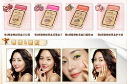 Wholesale SKINFOOD fruit lip gloss makeup box nude color lip and cheek cream lip balm jelly blush