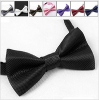 Wholesale Bow tie fashion men bow tie high quality nice tie waiters wear bow tie cheap price colorful mix