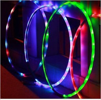 Wholesale Shine electronic fitness gymnastics LED the hula hoop hula hoop insights cm