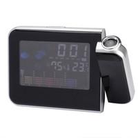 Digital   Weather Multi-function Station Projection Alarm Clock Multi-function Station LED Display sample