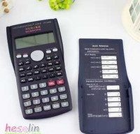 Wholesale The Scientific function Calculator students functions auto power off LED essential dual display