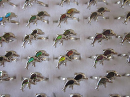 dolphin MOOD Rings mood ring changes color to the temperature of your blood mix sizes