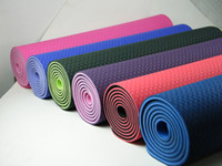 Wholesale Eco TPE yoga mat CM T6MM Natural TPE Yoga Mat